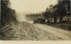1910 6 11 AUTO RACE FIREMENS PICNIC DALLAS, WIS JUNE 11, 10 DENISON PHOTO NO 113 RPPC front