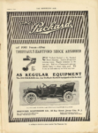 1910 8 31 1911 Packard has TRUFFAULT HARTFORD SHOCK ABSORBERS PACKARD MOTOR CAR COMPANY THE HORSELESS AGE August 31,1910 9″×12″ page 1