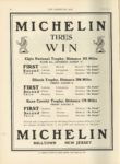 1910 8 31 MICHELIN TIRES WIN Elgin, ILL THE HORSELESS AGE 9″×12″ page 28