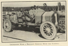 1910 8 31 NATIONAL Livingstone Elgin race car THE HORSELESS AGE 9″×12″ page 309
