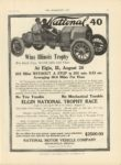 1910 8 31 NATIONAL National 40 Wins Illionois Trophy Elgin, ILL THE HORSELESS AGE 9″×12″ page 33