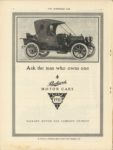 1910 8 31 Packard 1911 PACKARD EIGHTEEN RUNABOUT PACKARD MOTOR CAR COMPANY THE HORSELESS AGE August 31, 1910 9″×12″ page 54