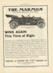 1910 8 31 THE MARMON WINS AGAIN This Time at Elgin THE HORSELESS AGE 9″×12″ page 29