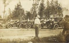 1910 ca. Auto Race Wahkon, Minn. RPPC front