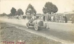 1912 ca. STUTZ STURDY STUTZ 1912 Santa Monica Earl Cooper? RPPC front