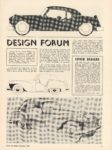 1950 12 DESIGN FORUM Decemeber winner Henry C. Soder ROAD and TRACK 8.25″×11″ page 9