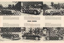 1950 12 PININ FARINA ROAD and TRACK 8.25″×11″ pages 16 & 17