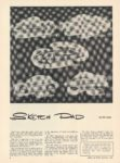 1950 12 SKETCH DAD by Bill Jenks ROAD and TRACK 8.25″×11″ page 8