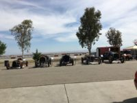 2018 5 5 Blain Motorsports Foundation (L-R) 1919 Lakester, 1912 Packard 30, 1916 National AC, 1916 Sturtevant, 1911 National SR at Buttonwillow except a Morgan 3-Wheeler