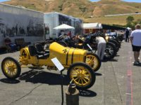 2018 6 2 Blain Motorsports Foundation lineup (L-R) 1915 FORD Model T racer, 1912 Packard 30 Sonoma Historics