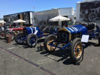 2018 6 2 Blain Motorsports Foundation lineup (L-R) 1916 Sturtevant, 1916 National AC, 1911 National SR Sonoma Historics