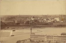 1888 Minneapolis, MN From Winslow House? by Upton? 6.5″×4″ photo front