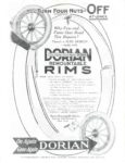 1911 ca DORIAN REMONTABLE RIMS TURN FOUR NUTS OFF AT ONCE GC xerox