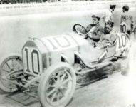 1911 ca. STUTZ Gil Anderson at Indianapolis Car No. 10 10″×8″ photo GC