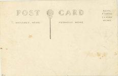 1912 ca. ANNUAL HILL CLIMB THE START – PERRY HILL ALCONQUIN, ILL. RPPC back