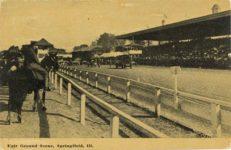 1912 ca. Fair Ground Scene, Springfield, Ill postcard front