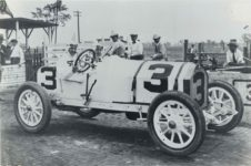 1913 STUTZ Indy 500 Barney Oldfield Car No. 3 7″×4.75″ photo GC front