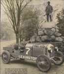 1920 ca. LEXINGTON Car No. 7 at Minute Man of 1776 AC