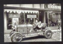 1920 ca. LEXINGTON Car No. 7 at dealer B&W AC 2
