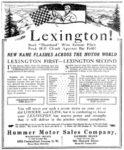 1920 ca. LEXINGTON Pikes Peak ad AC