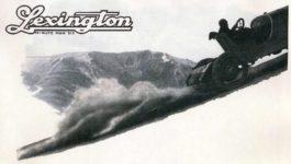 1920 ca. LEXINGTON Pikes Peak ad AC 2