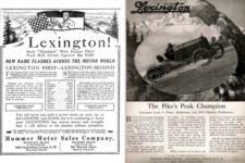 1920 ca. LEXINGTON Pikes Peak ads AC