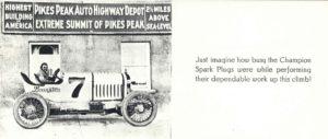 1922 ca. LEXINGTON racer Pikes Peak Champion spark plugs AC
