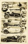 1933 ca. HANNON, SALL, VIEAUX, FRAME, WINN PHOTO CY LA TOUR RPPC front