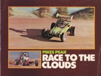 1920 ca. PIKES PEAK RACE TO THE CLOUDS AC Front cover