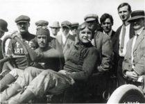 1912 ca. Louis Disbrow racer POPE-HARTFORD 9.5″×7″ GC photo