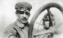 1912 ca. Louis Disbrow racer 9.5″x6″ GC photo