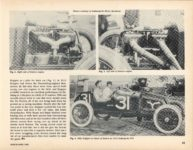 1913 KEETON AT INDY by Jerry Gebby ANTIQUE AUTOMOBILE March-April 1989 11″×8″ page 25
