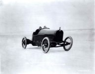 1916 HUDSON racer Ralph Mulford at Daytona Beach, FLA Breaks World Speed Record H-6900-489-HC 9.25″×7.5″ photo