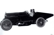 1917 ca. HUDSON racer Ralph Mulford 1784 9.5″×7″