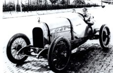 1916 HUDSON racer Indy 500 entry Ralph Mulford  (did NOT qualify) 9.5″×6.25″ photo