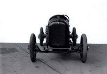 1917 HUDSON racer front view 1801 9.5″×7.25″