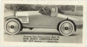 1917 ca. DISBROW Louis Disbrow business card Lexington Hotel was Al Capone's hotel 3″×1.5″ GC back