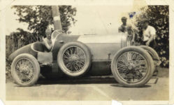 1917 ca. Unknown race car 1 right side 5.5″×3.25″ GC snapshot