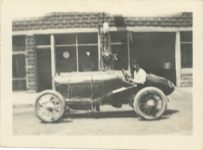 1917 ca. Unknown race car left side 3″×2″: GC snapshot 1