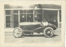 """1917 ca. Unknown race car left side 3″×2"""" GC snapshot 3"""