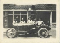 1917 ca. Unknown race left side 3″×2″ GC snapshot 2
