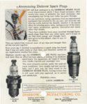 1920 ca. DISBROW SPARK PLUGS 6.75″×8″ GC back