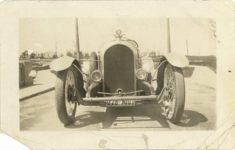 1921 ca. DISBROW Louis Disbrow SPECIAL front 4″×2.5″ GC snapshot 1