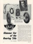 1961 1 STUTZ Glamour Car of the Roaring '20s By J. L. Beardsley MODERN MAN 8.5″×11″ page 42
