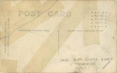 1909 Auto Speed Race Trophies Spokane RPPC back