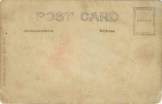 1910 10 1 VANDERBILT CUP RACE OCT. 1. 1910 Pope-Hartford Bert , RPPC back