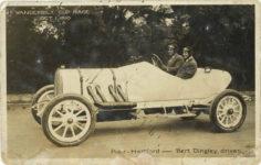1910 10 1 VANDERBILT CUP RACE Pope-Hartford OCT. 1. 1910 Bert Dingley, driver RPPC front
