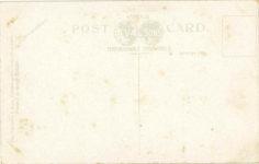 1915 ca. Locomobile Works of America, Bridgeport, Conn. postcard back