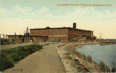 1915 ca. Locomobile Works of America, Bridgeport, Conn. postcard front