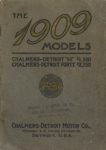 1909 CHALMERS-DETROIT THE 1909 MODELS 6.75″×9.5″ Front cover